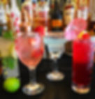 cocktails, selection, wide variety
