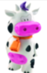 vacky cow toy kids menu ice cream kc's bar and grill steak