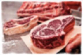dry aged steak kc's ribeye