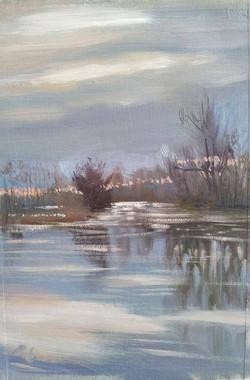 shiplake, floodwater