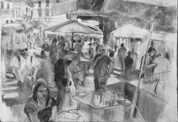market at Mont Brun-Bocage
