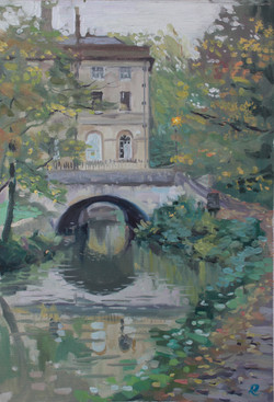 by the canal, Bath