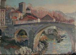 Bridge at St Lizier