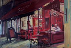 cafe rouge, Milsom street, Bath