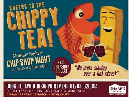 Tapas, Fish & Chips and Steak Night Events