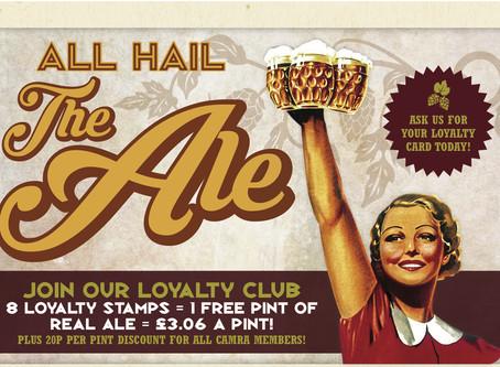 Real Ale Loyalty Club