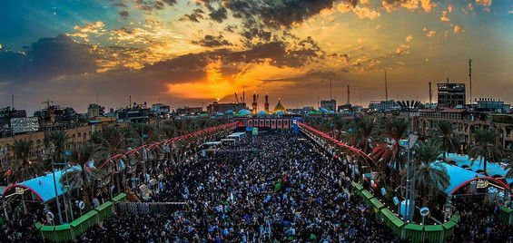 Karbala i Irak - Imam Hussain