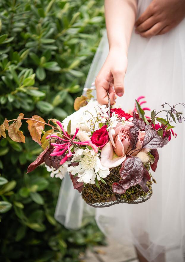 Bridesmaid basket