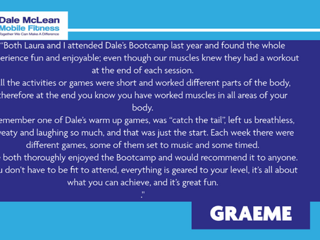 Graeme Review - Dale McLean Mobile Fitness