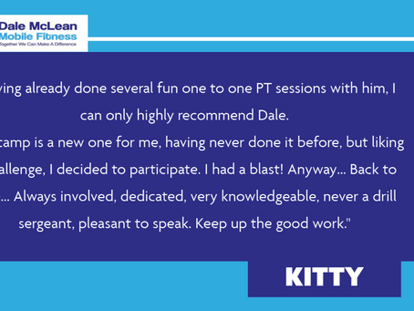 Kitty Review - Dale McLean Mobile Fitness