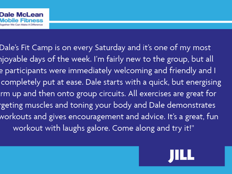 Jill Review - Dale McLean Mobile Fitness