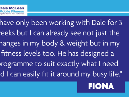Fiona Review - Dale McLean Mobile Fitness