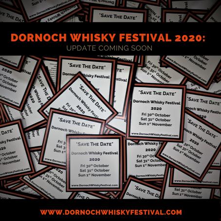 Dornoch Whisky Festival 2020: COVID-19 Update