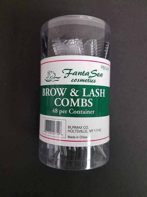 Brow and Lash Combs- 48 Count