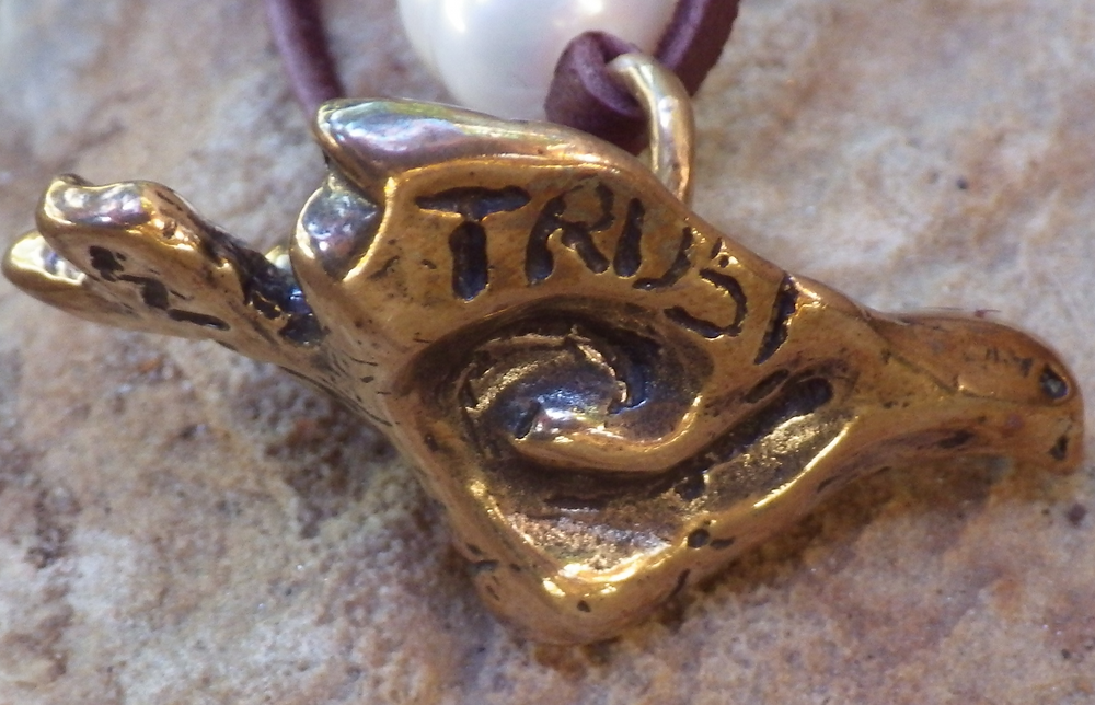 Trust Dove Necklace #TDH1301 Picture A_edited