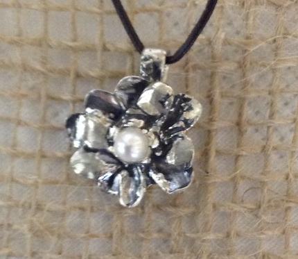 Hope Flower (Sterling Silver)