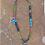 Thumbnail: Peace Dove w/ Multicolored Stone Chain (Bronze)
