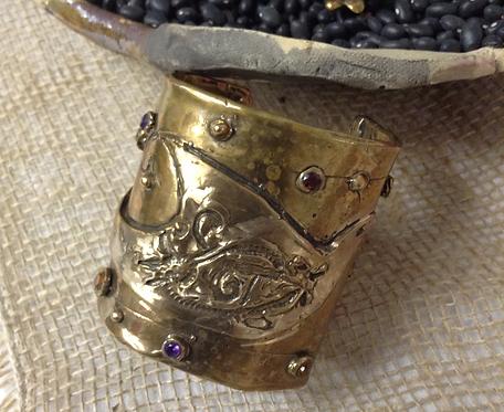 Wisdom Cuff (Bronze)