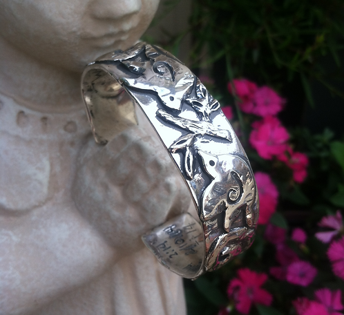 Gifts and Talents Cuff (Sterling Silver)