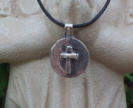 Believe Cross (Sterling Silver)