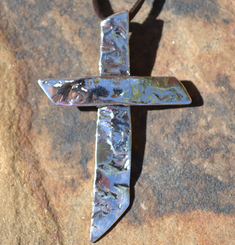 Alive Cross (Sterling Silver)