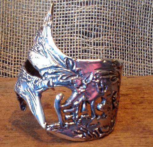 Peace Cuff (Sterling Silver)