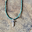Thumbnail: Live Cross w/ Turquoise Chain (Sterling Silver)