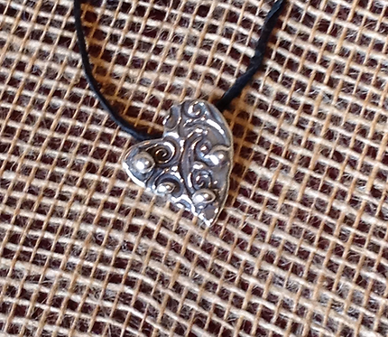 Love Heart (Sterling Silver)