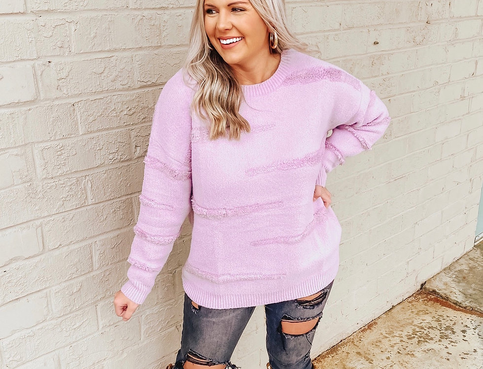 Lilac Lover Sweater