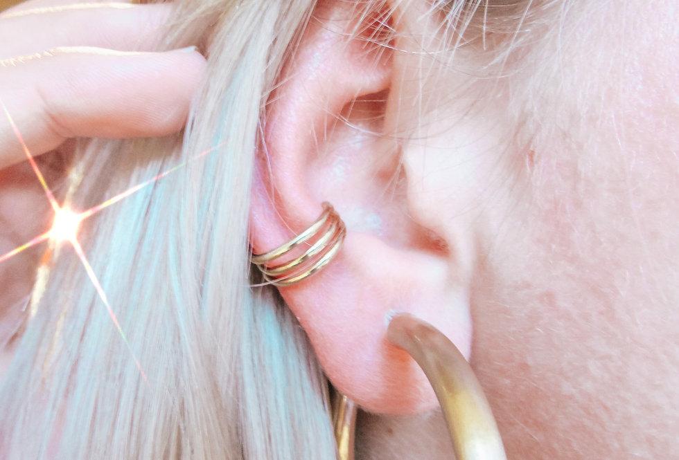 Three Row Ear Cuff