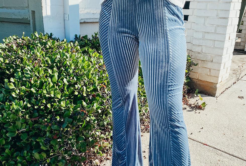 Velvet Elvis Flare Pants