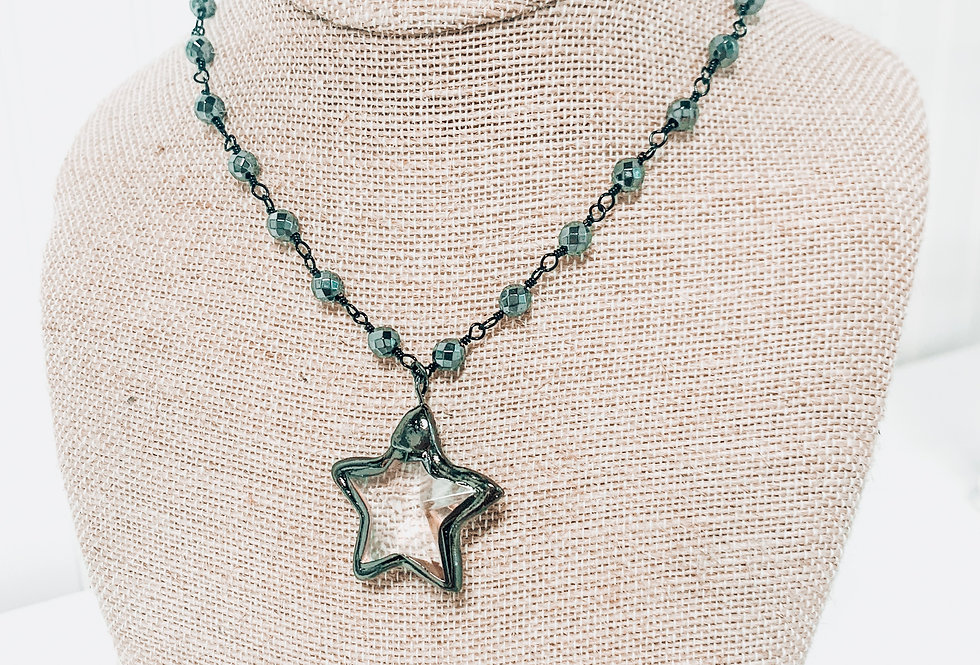Crystal Star - Gunmetal