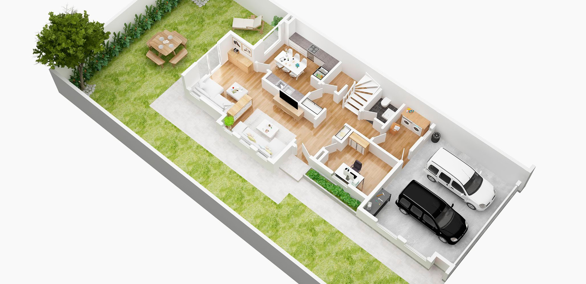 amartist_fisrt floor_3D  floor plan