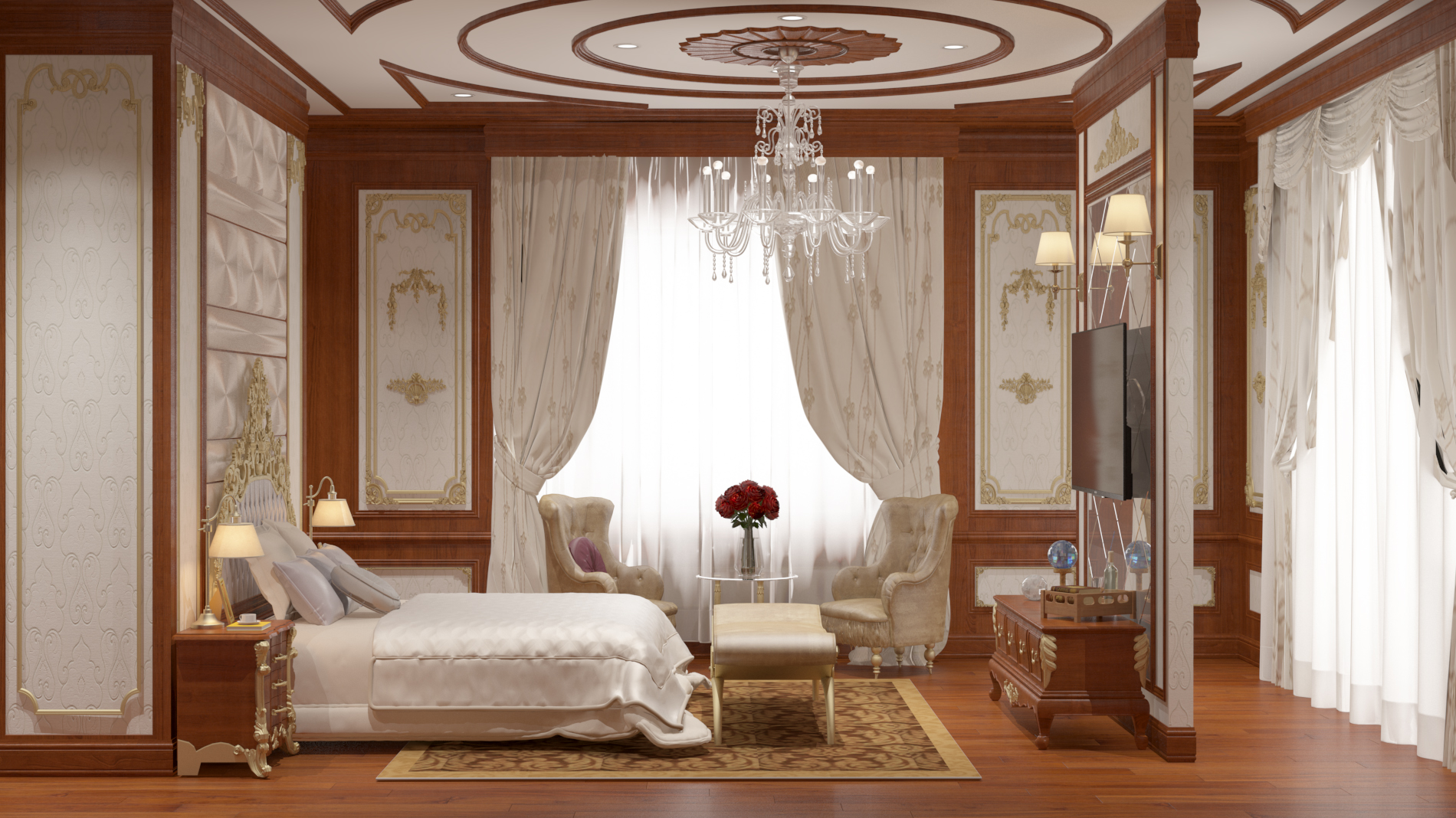 semi-classic master bedroom 02