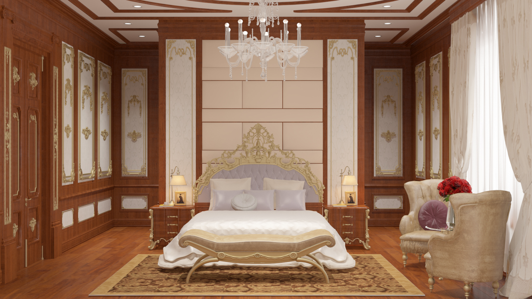 semi-classic master bedroom 01