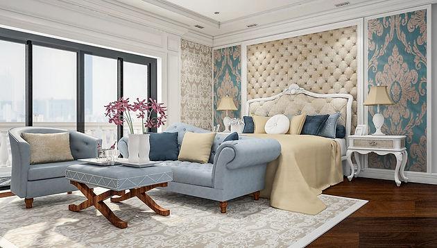 interior 3D rndering - bedroom