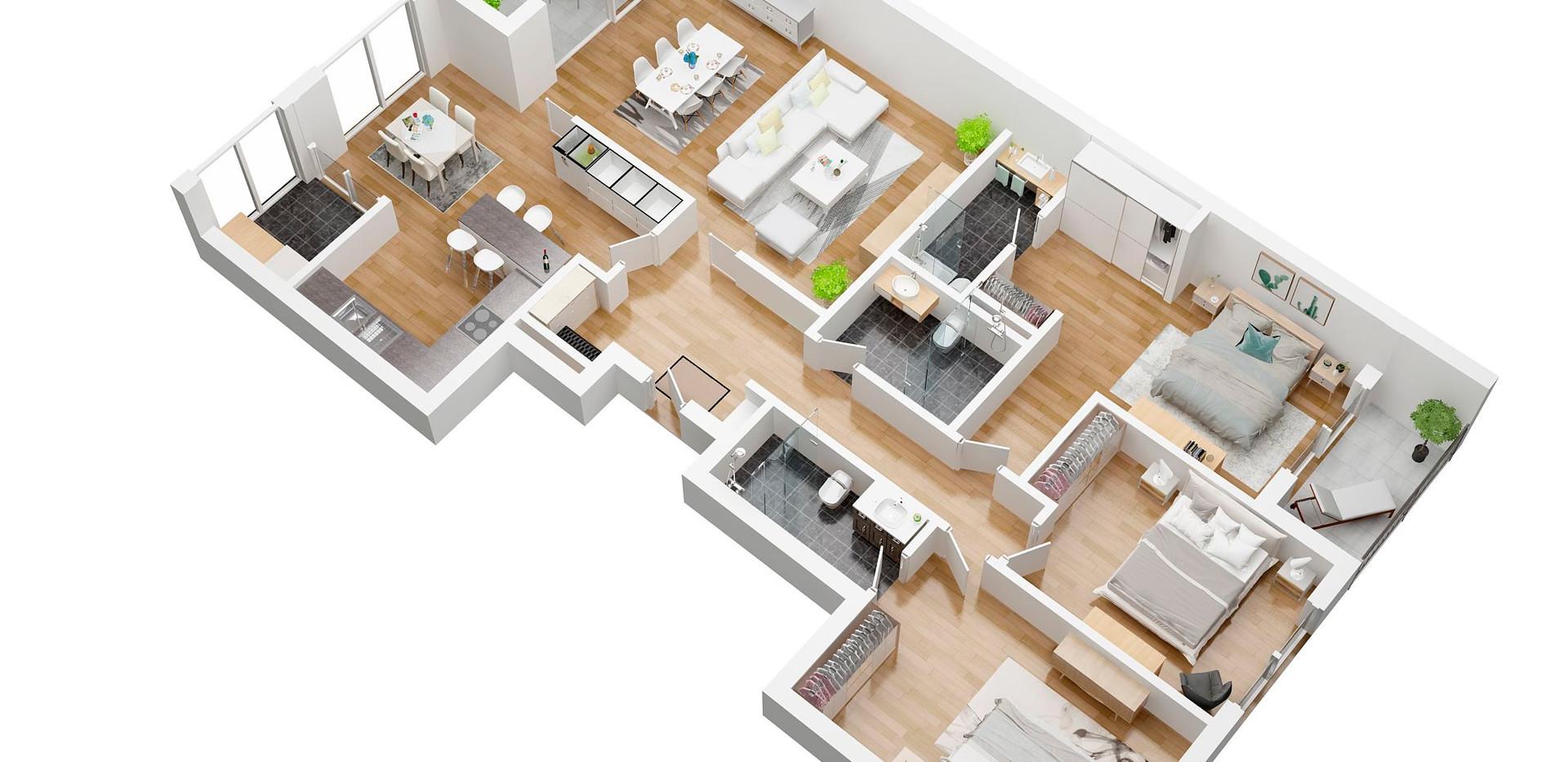 ramstein74_3D floor plan