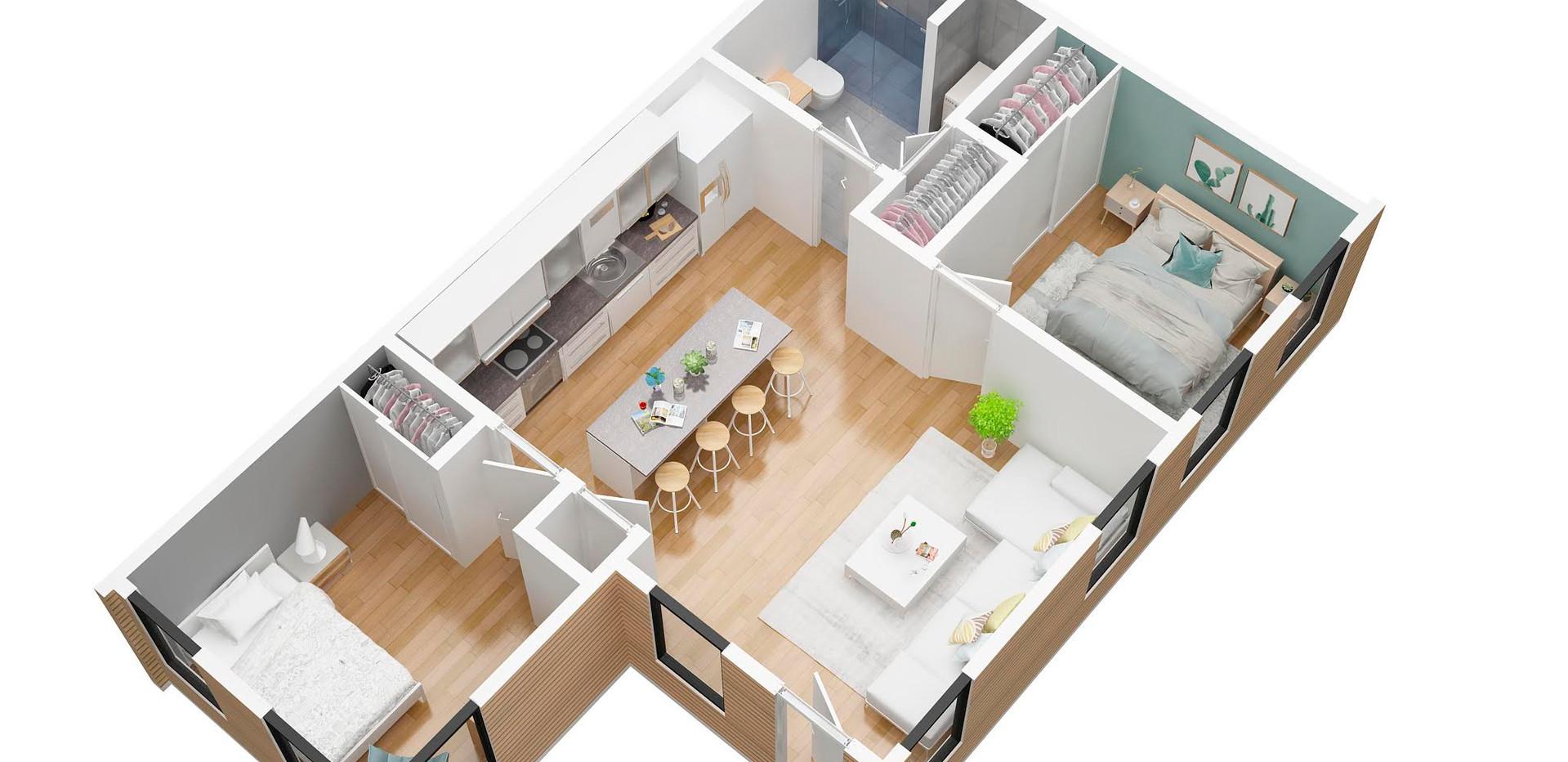 felixleblanc_floor plan v1_3D Floorplan