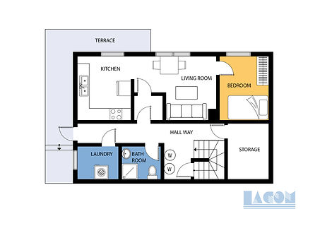 2d floor plan landscape orientation
