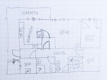2d floor plan input sketch