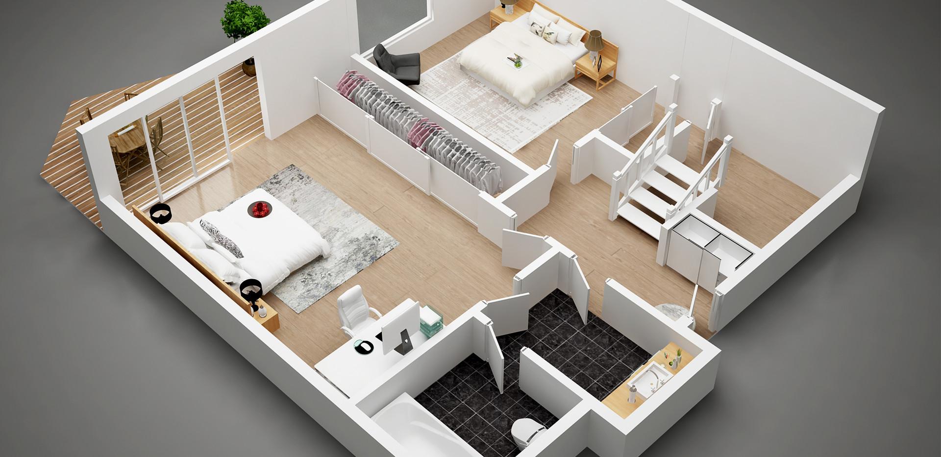 downstair  floor plan