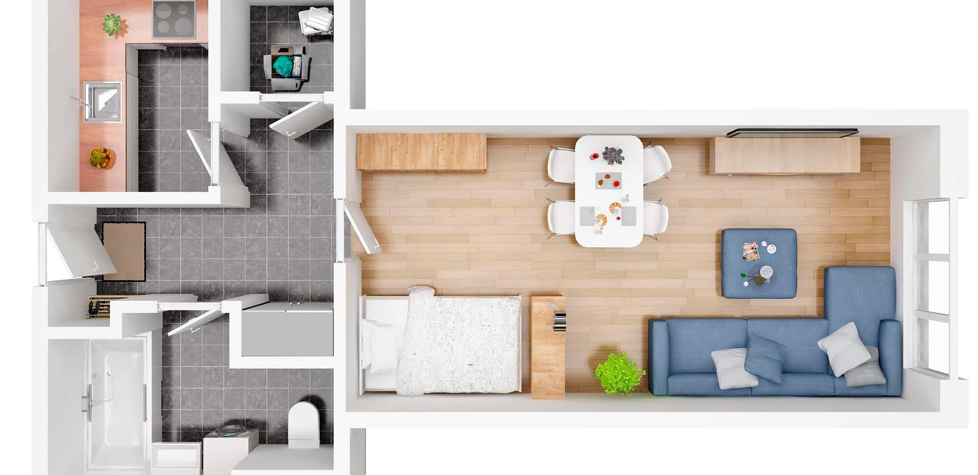 steinadlerat_105_topview_3D  floor plan