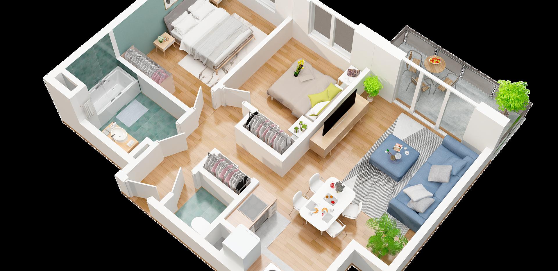 baphdia_4_3D pro floor plan