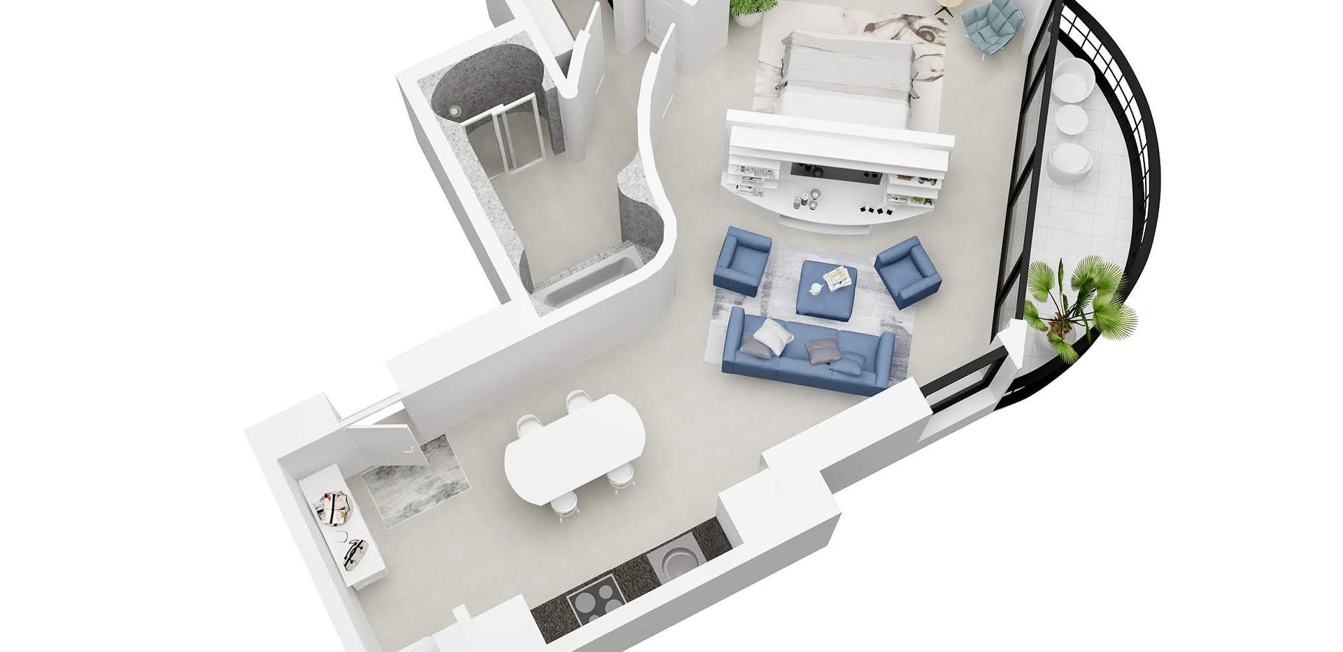 Mehran87 _3D  floor plan