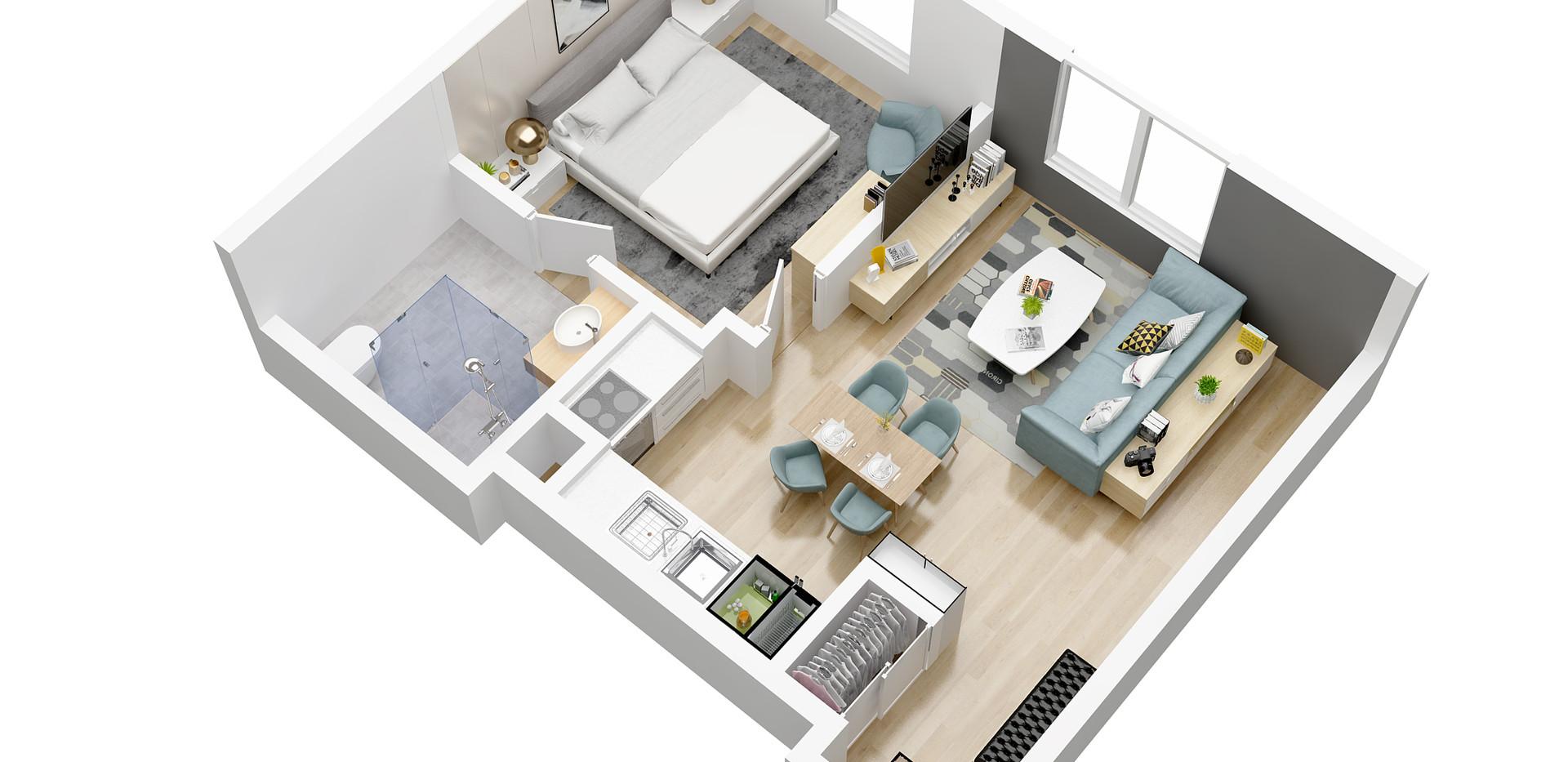 baphdia_floor plan_3D pro floor plan