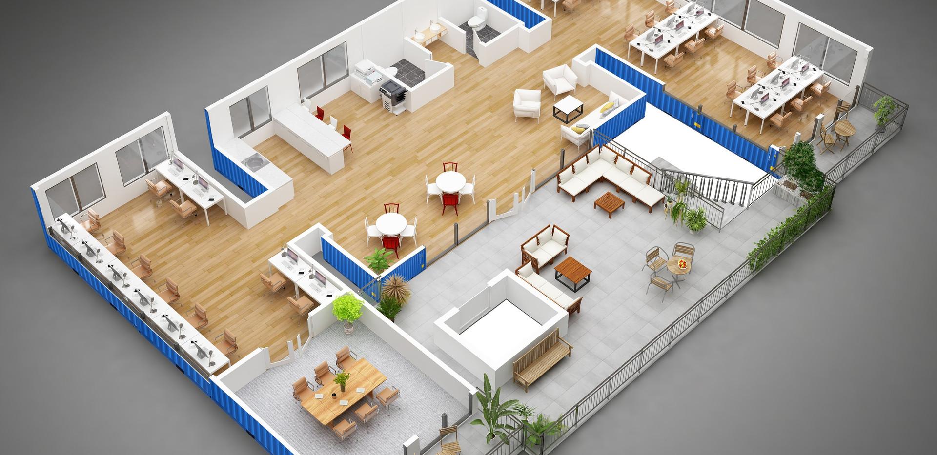 marcob_3d container corporation floor pl