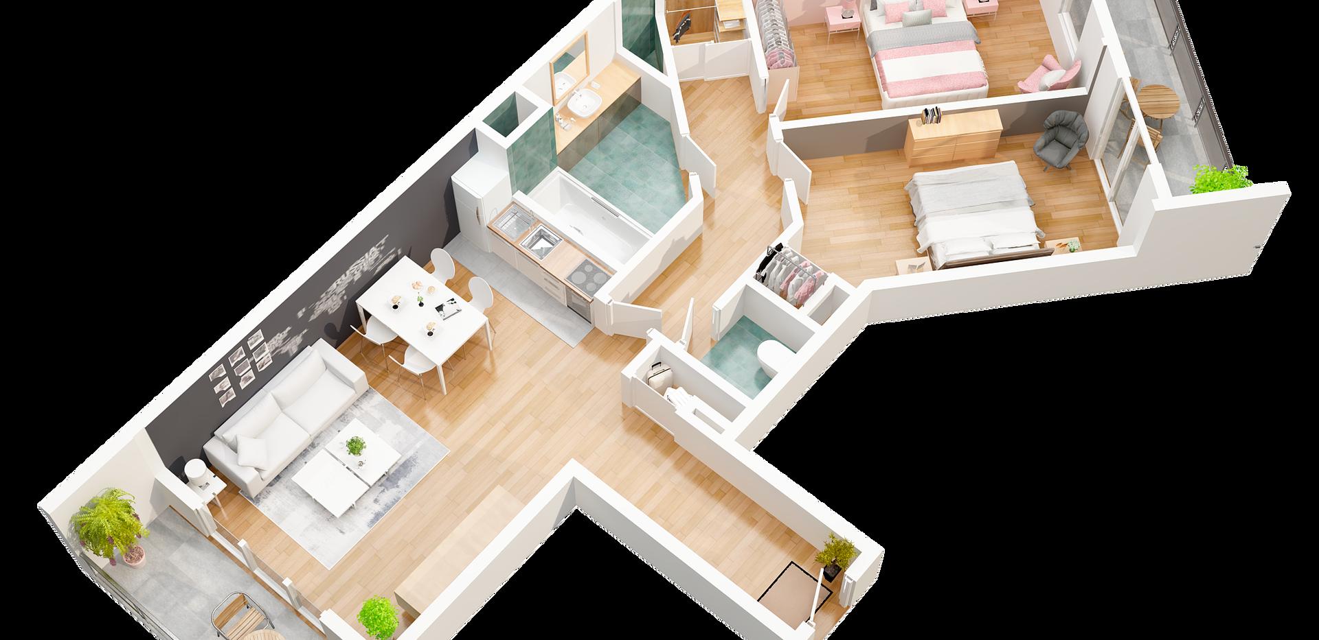 baphdia_2_3D pro floor plan