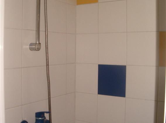 badkamer: douche