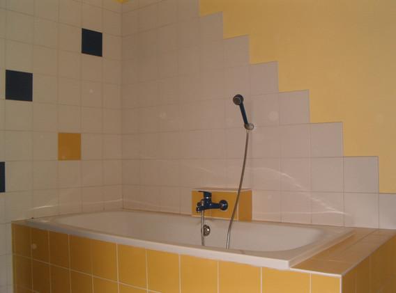 badkamer: ligbad