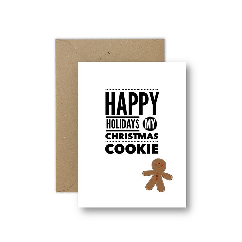 my christmas cookie